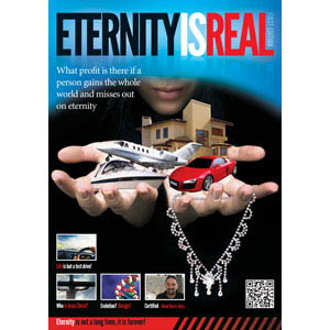 Eternity is Real Magazine First Edition